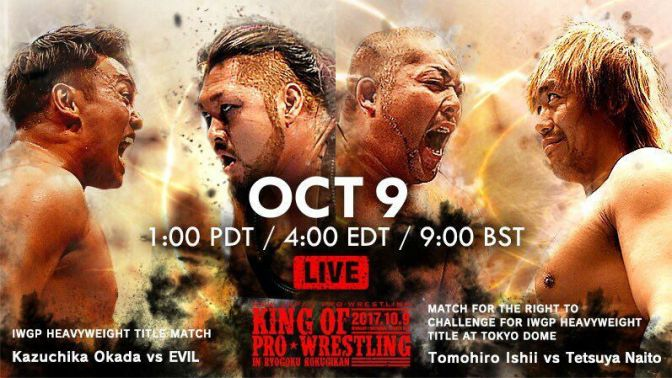 NJPW King of Pro Wrestling Review